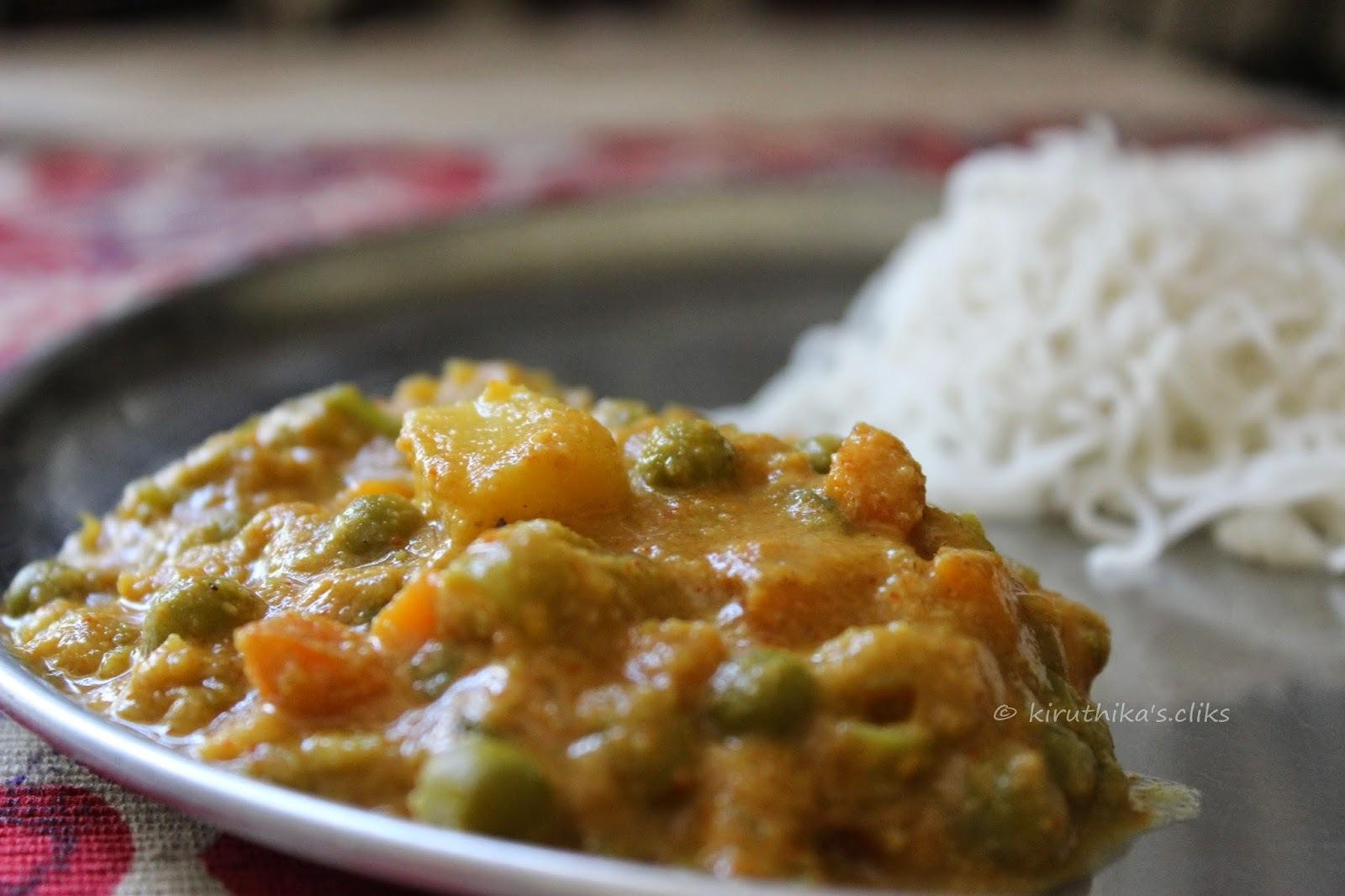 cauliflower kurma tamil
