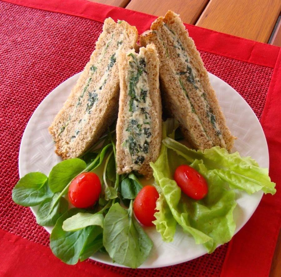 sanduiche de baixa caloria com atum