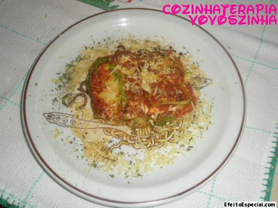 lasanha de abobrinha italiana