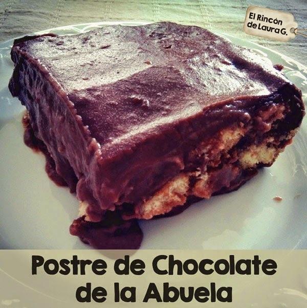 Receta de Postre de Chocolate de la Abuela