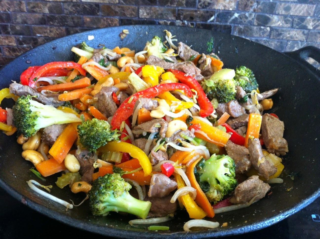 Thai beef stir-fry recipe
