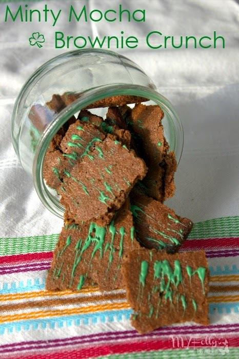 Minty Mocha Brownie Crunch