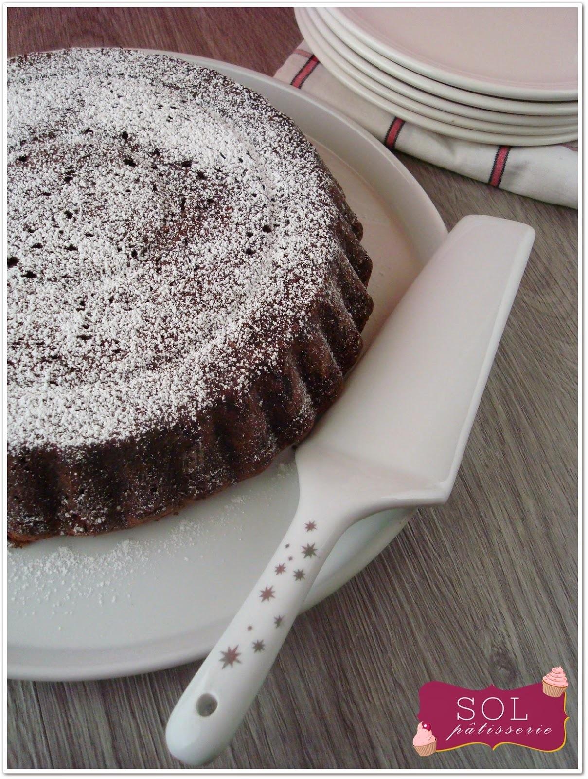 Caprese al cioccolato Gâteau au chocolat italien sans gluten- Bolo de chocolate italiano sem gluten
