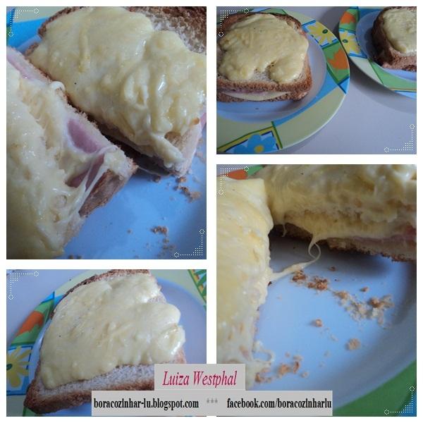 Sanduiche Delicia no Forno
