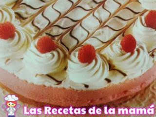 Receta de Tarta de queso con gelatina