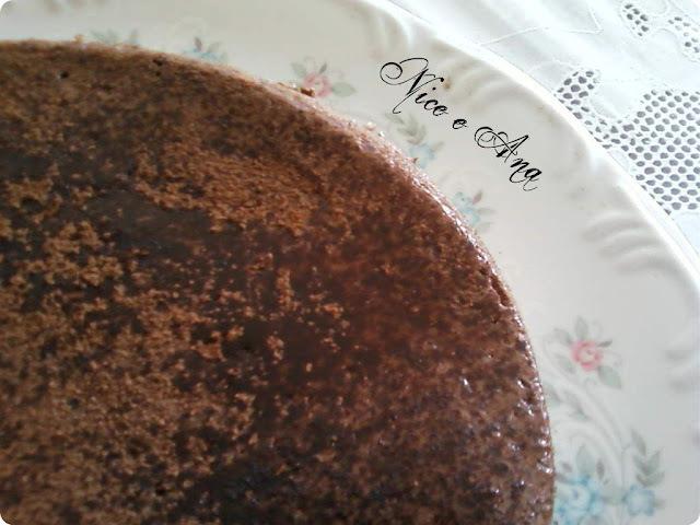 Pudim de Clara e Chocolate