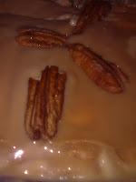 Torta de bolacha divina com nozes