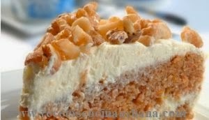 Como preparar budín dulce de zanahorias relleno con queso crema y nueces