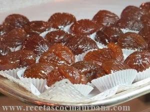 Marrons glacés, receta tradicional