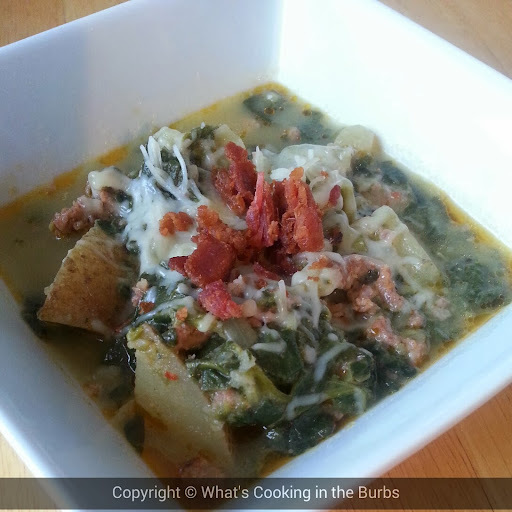 zuppa toscana slow cooker