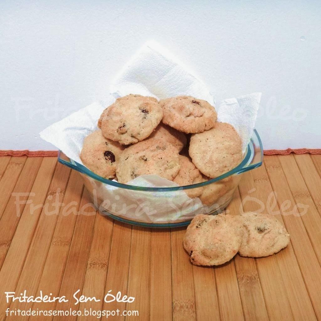 Biscoitos de Passas e Canela na AirFryer