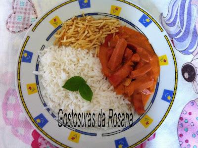 Estrogonofe de Salsicha