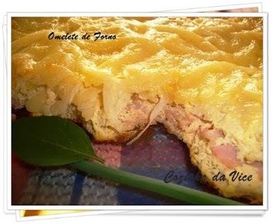 omelete de liquidificador