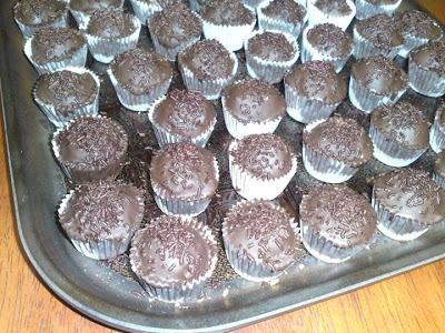Gâteaux de l'Aïd : boulettes de biscuits au chocolat