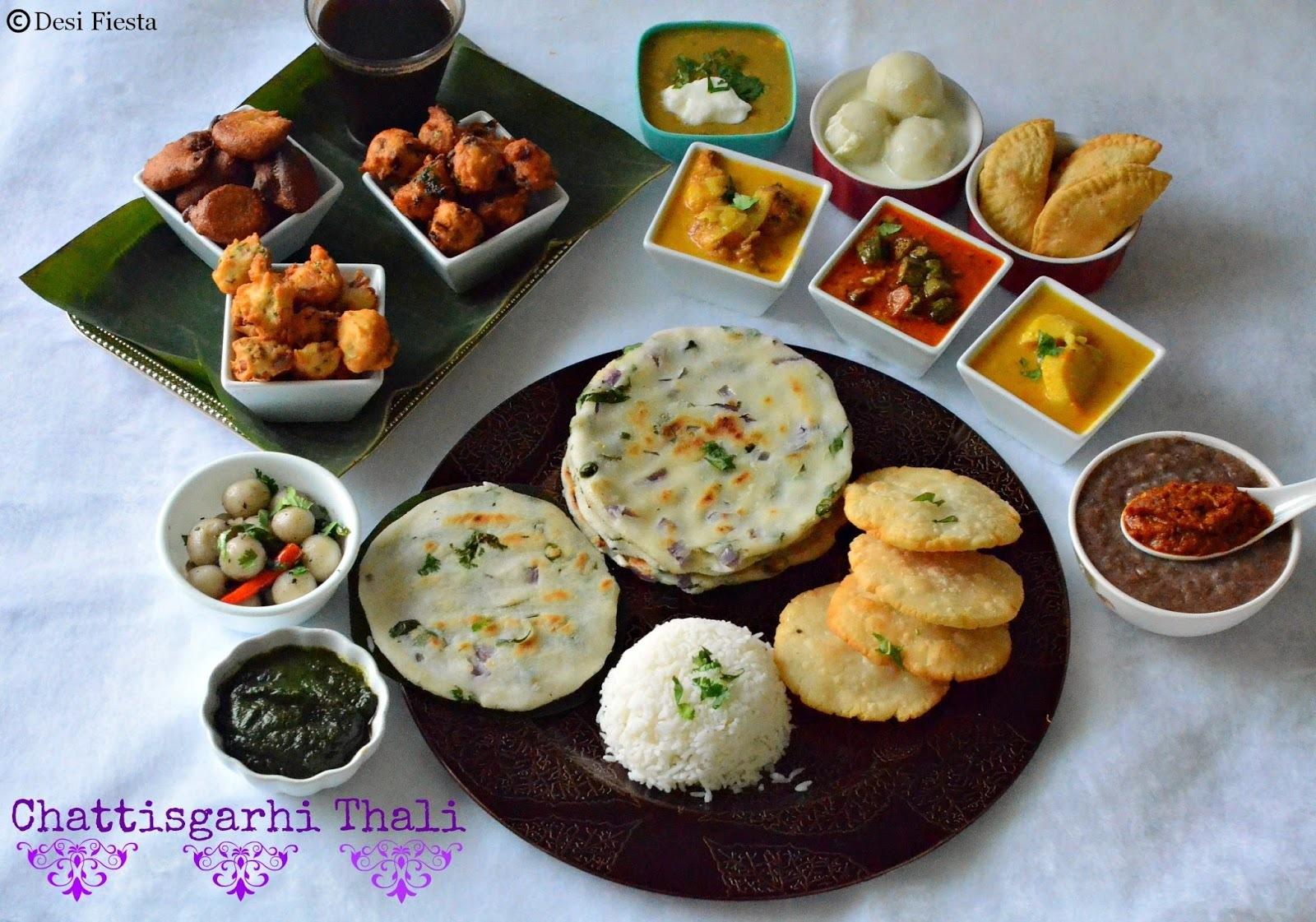 Chattisgarhi Thali | Chattisgarh Cuisine