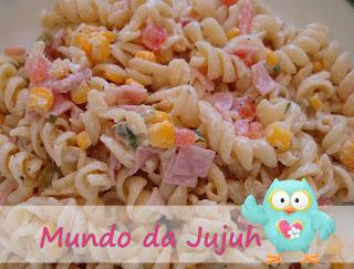 Salada de Macarrão #Quinta-Feira