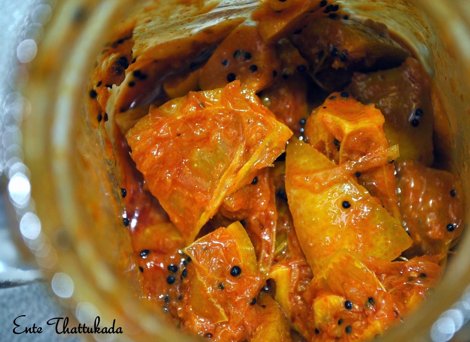 Lemon Pickle | Naranga Achar
