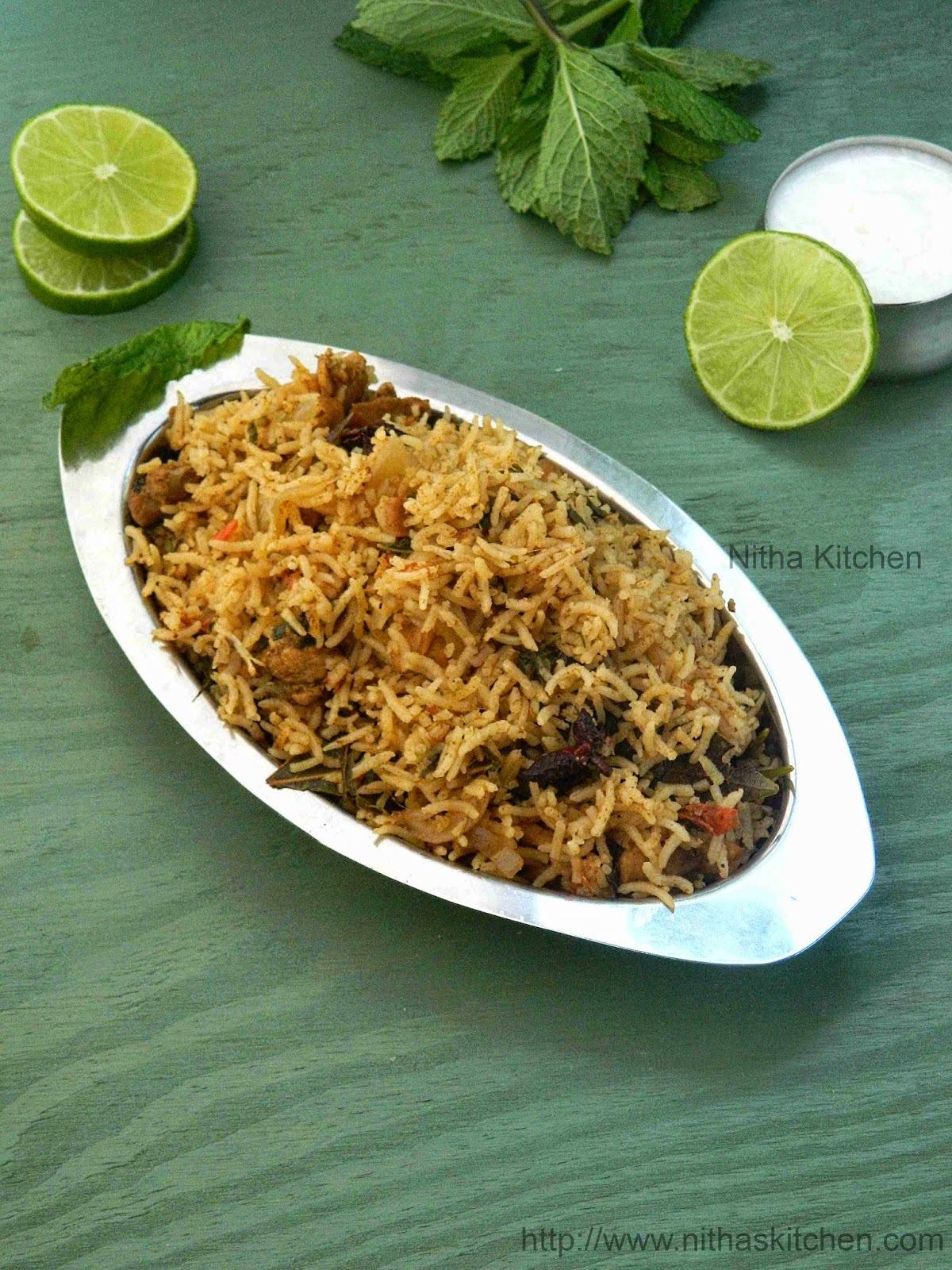 Hotel Kozhi Biryani Recipe | Restaurant Style Chicken Biriyani