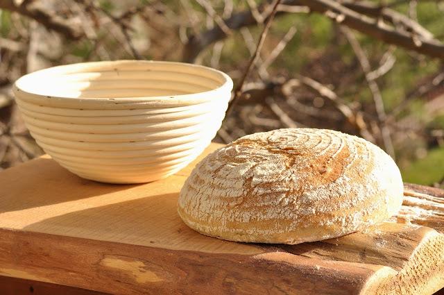 Domáci chlieb z ošatky