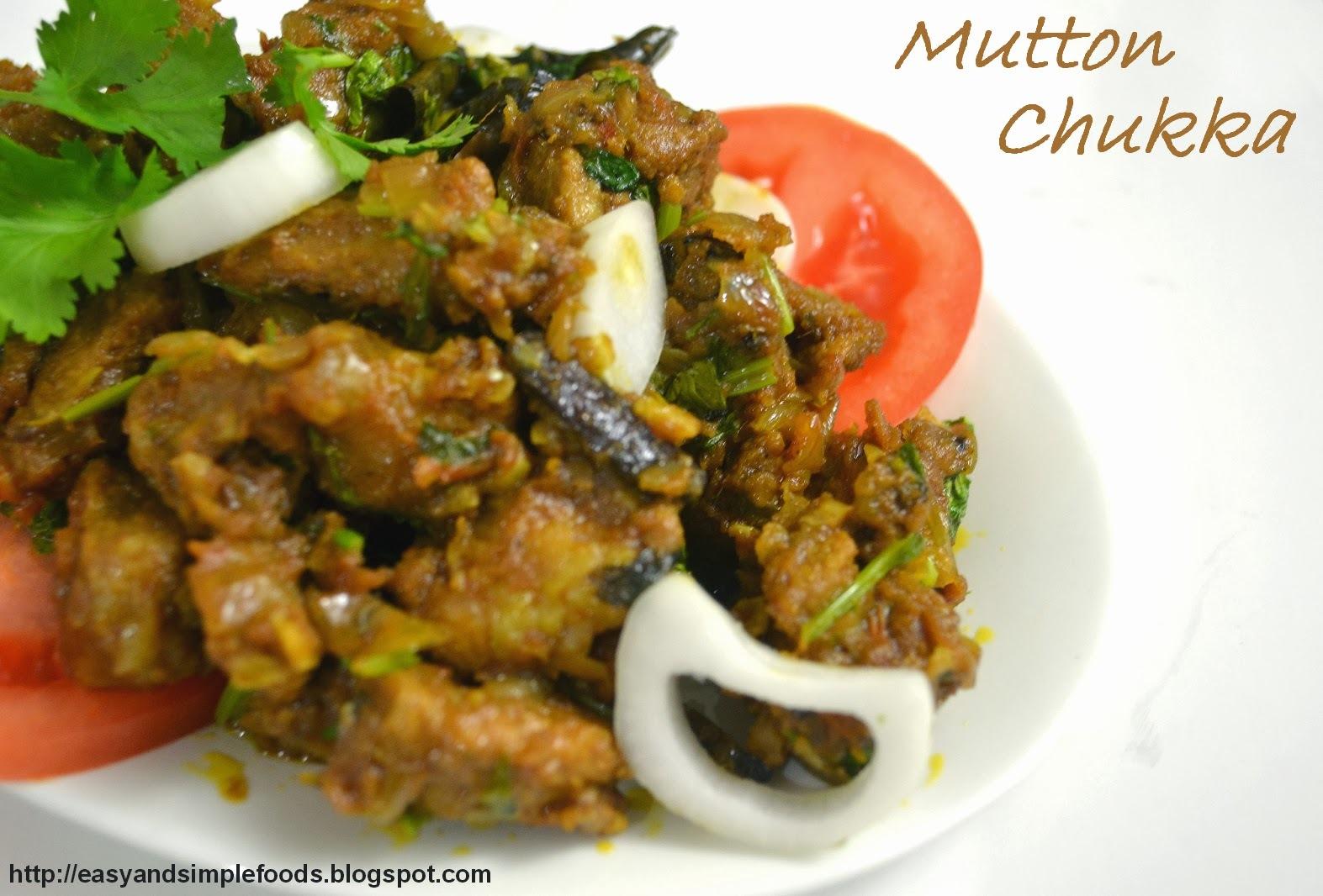 Mutton Chukka