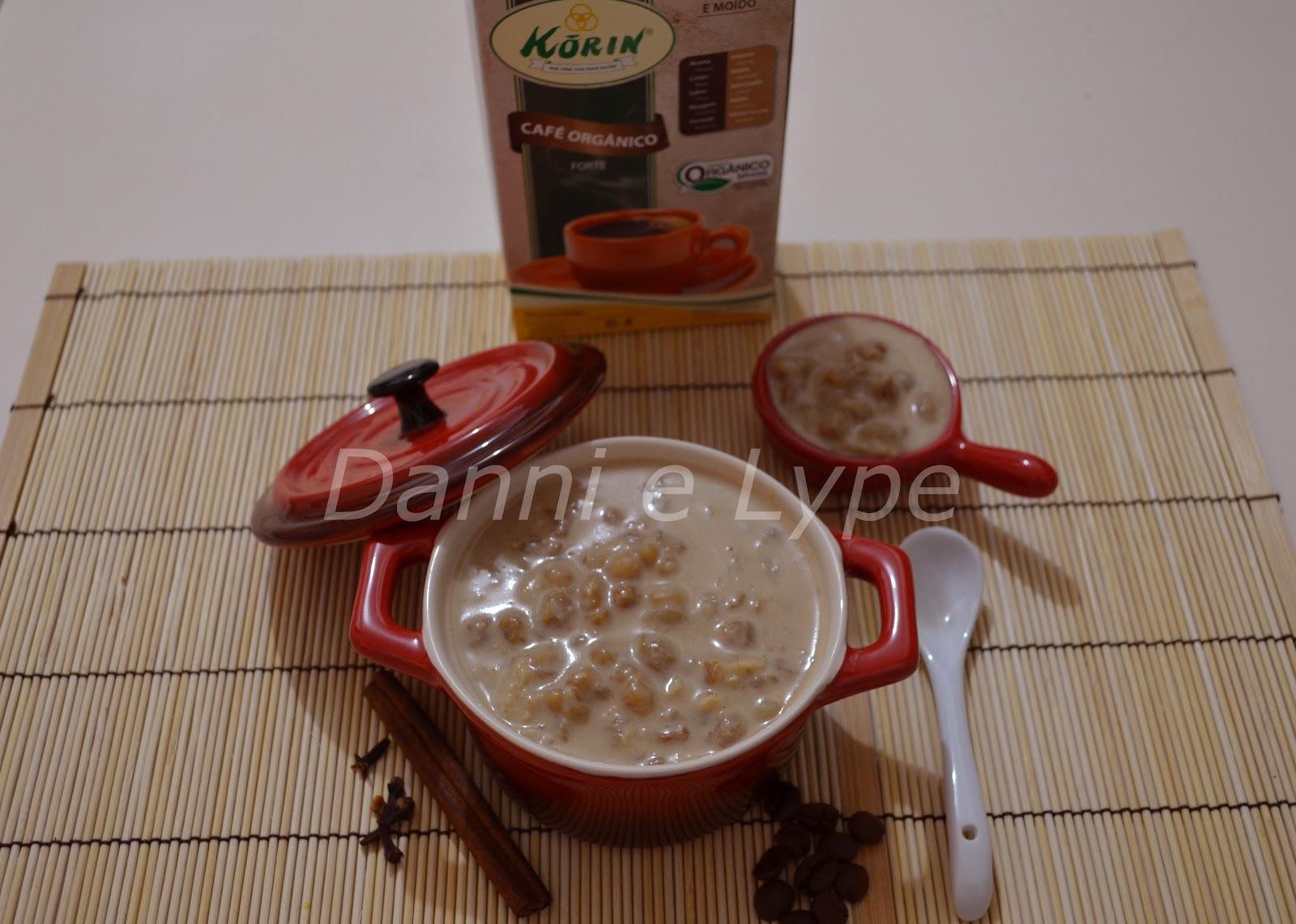 Canjica com Café (versão diet ou normal)