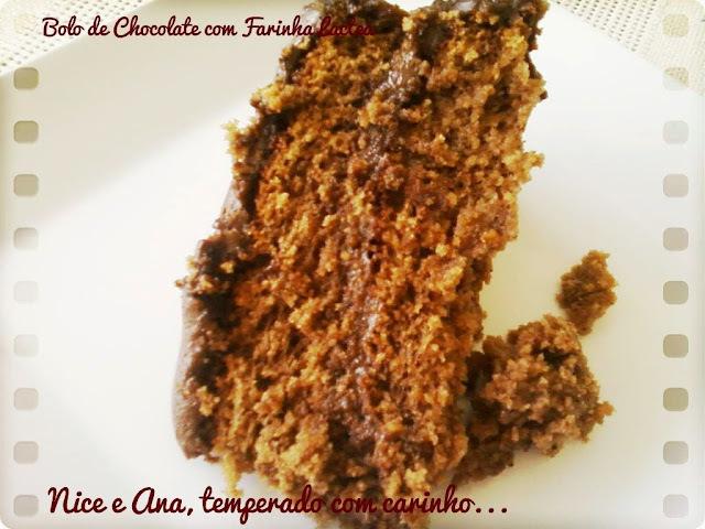 Bolo de Chocolate com Farinha Láctea