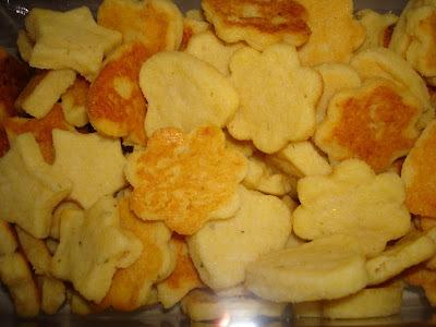 biscoito salgado com oregano