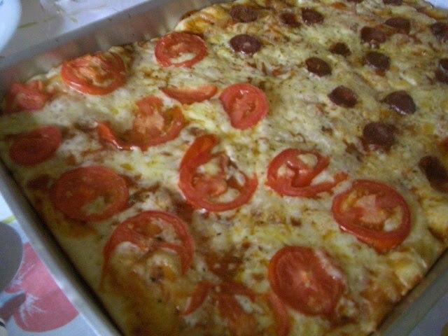 Massa caseira de pizza da vó Mindoca( Sou fã das coisas simples)