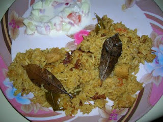 Chicken Biryani Simple