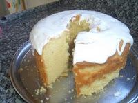 cobertura para bolo de laranja simples e facil