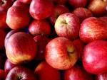 doce de maçã em calda com gelatina