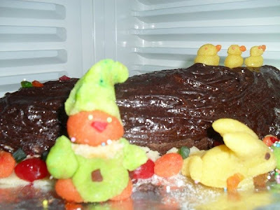 Yule Log Pudding/Cake