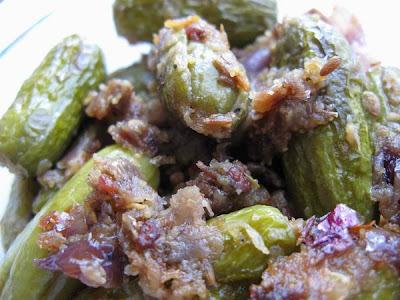 Dondakaya Ulli Karam ( Spicy Tindora Fry)