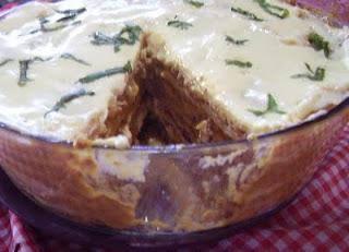 torta salgada cremosa de legumes