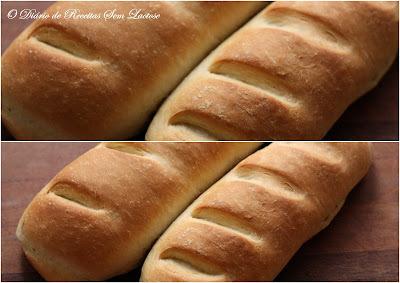 Pão Caseiro Sem Lactose