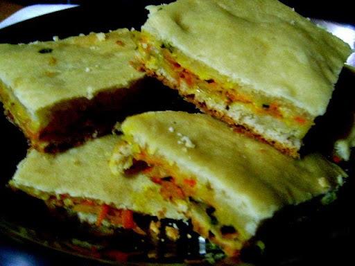 TORTA DE CENOURA E REPOLHO