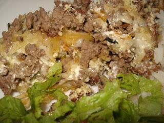 arroz de forno com carne moida