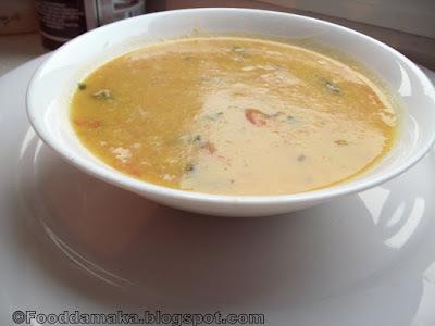 Moong Dal Sambar (pesara pappu  sambar)