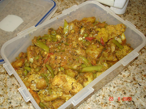 Basic mixed vegetable: Mixed sabzi