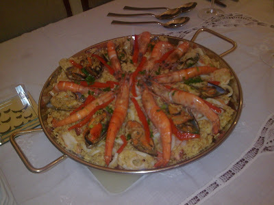 Paella de Frutos do Mar ...................