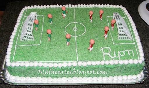 como decorar um bolo com glace passo a passo