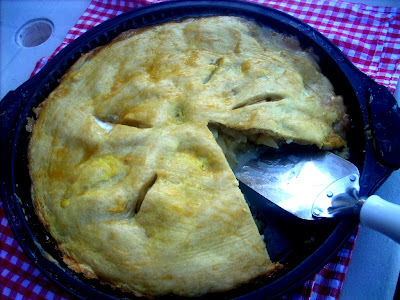 Extra thin Apple Pie