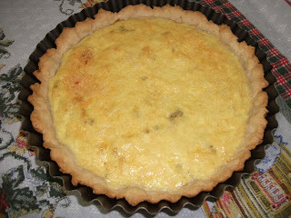 receita de quiche de queijo com bacon do edu guedes