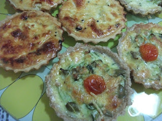 light de quiche com farinha integral
