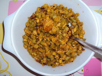 Beans Egg Stir Fry