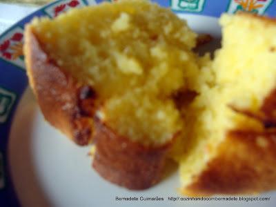 bolo de farinha de milho sem ovos