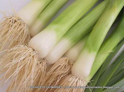 alho poro pode ser usado na salada de maionese