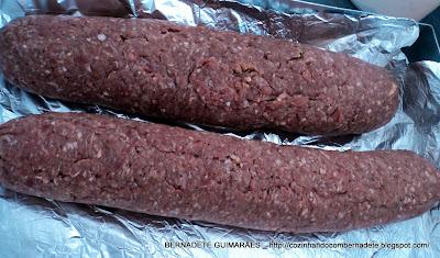 falso lombo de carne de porco com carne de boi