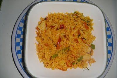 METHI-ONION FRIED RICE