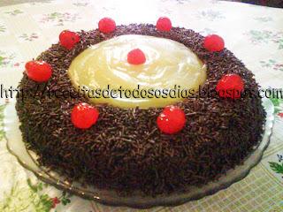 Torta Granfino Linda e Deliciosa